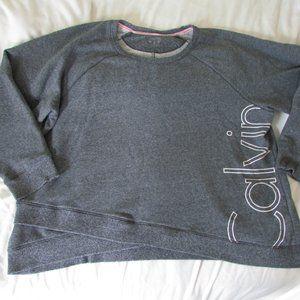 Calvin Klein Performance gray crewneck sweater, 3X